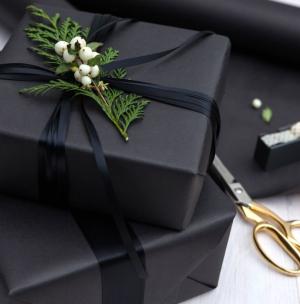 black-wrapped-present